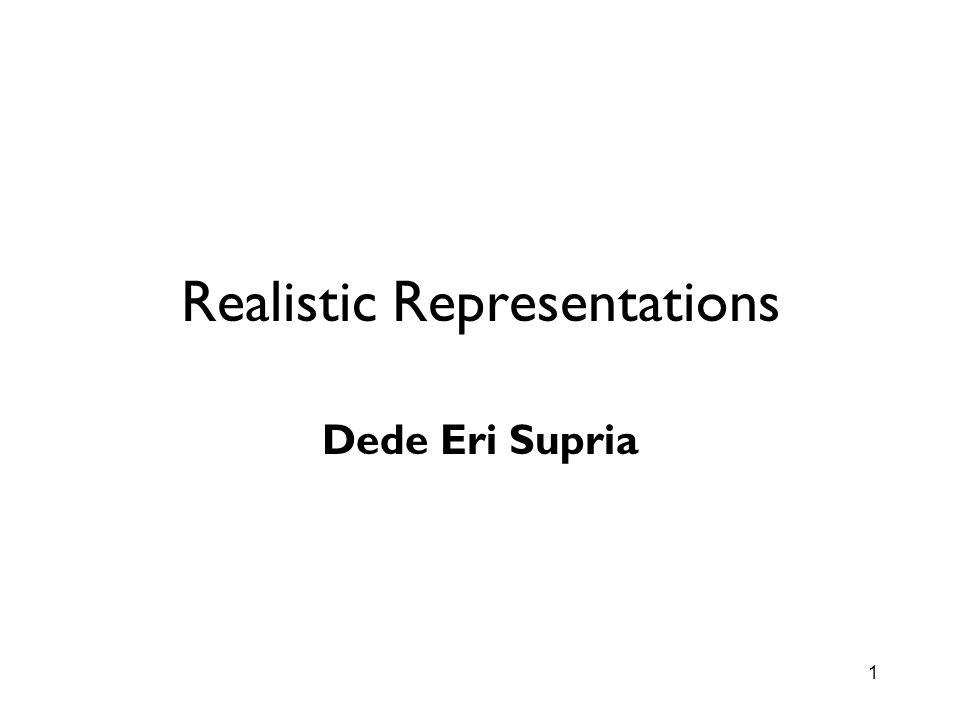 Realistic Representations