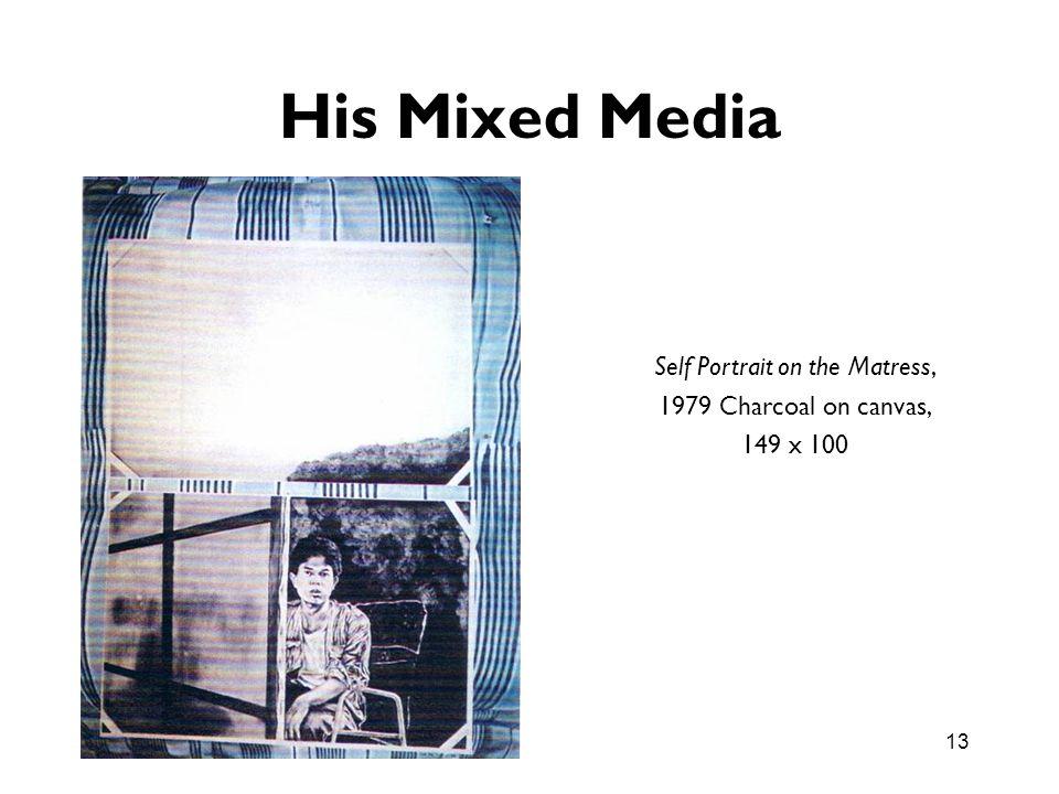 Self Portrait on the Matress,