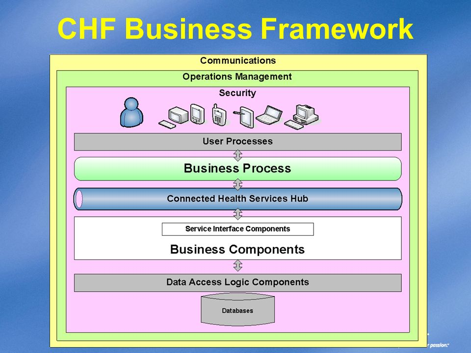 CHF Business Framework