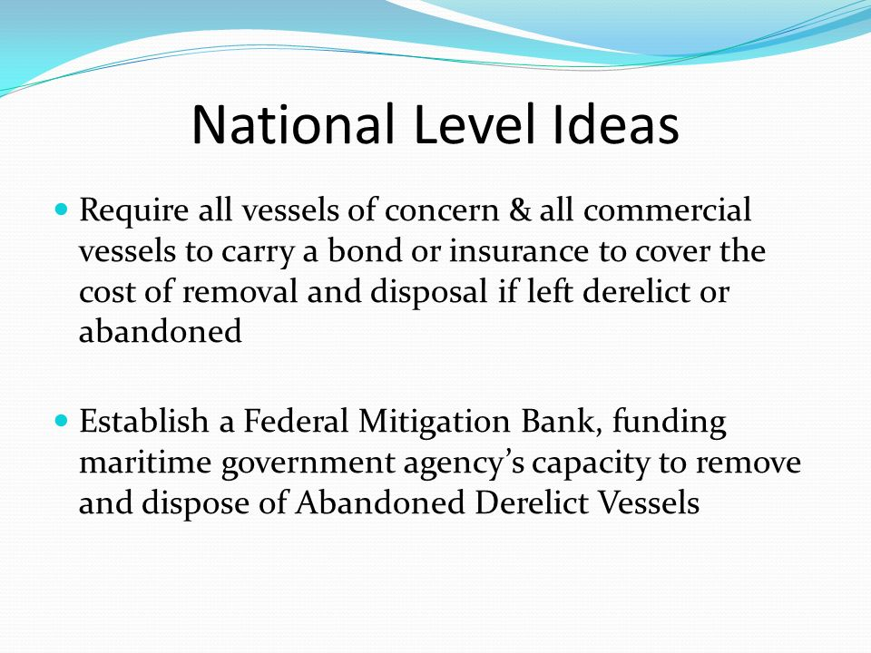 National Level Ideas