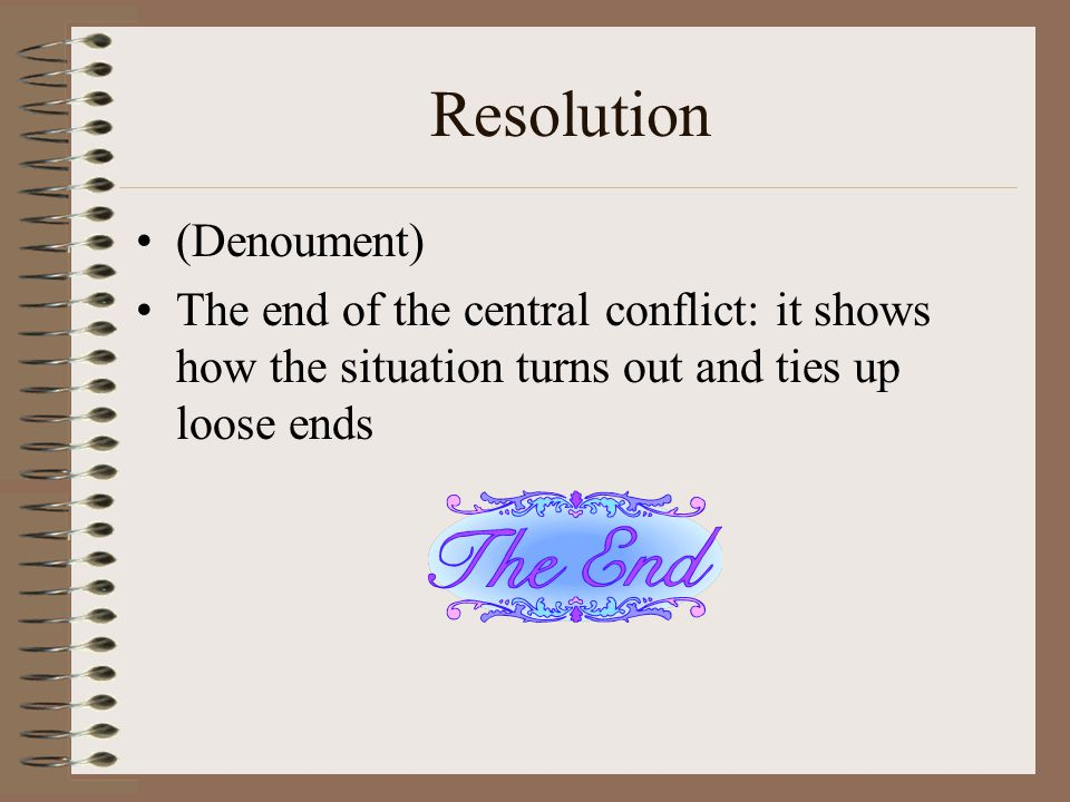 Resolution (Denoument)