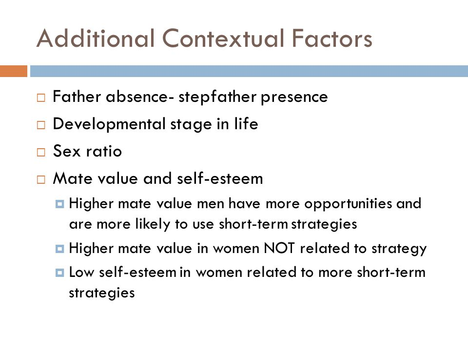 Additional Contextual Factors