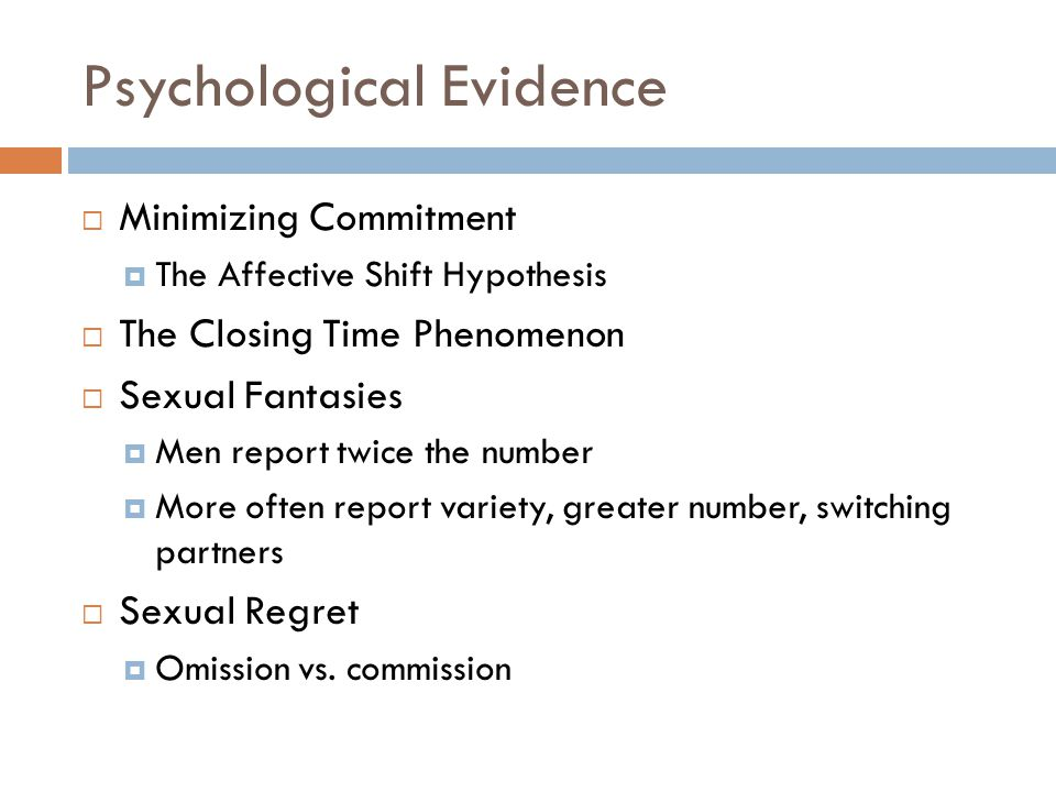 Psychological Evidence