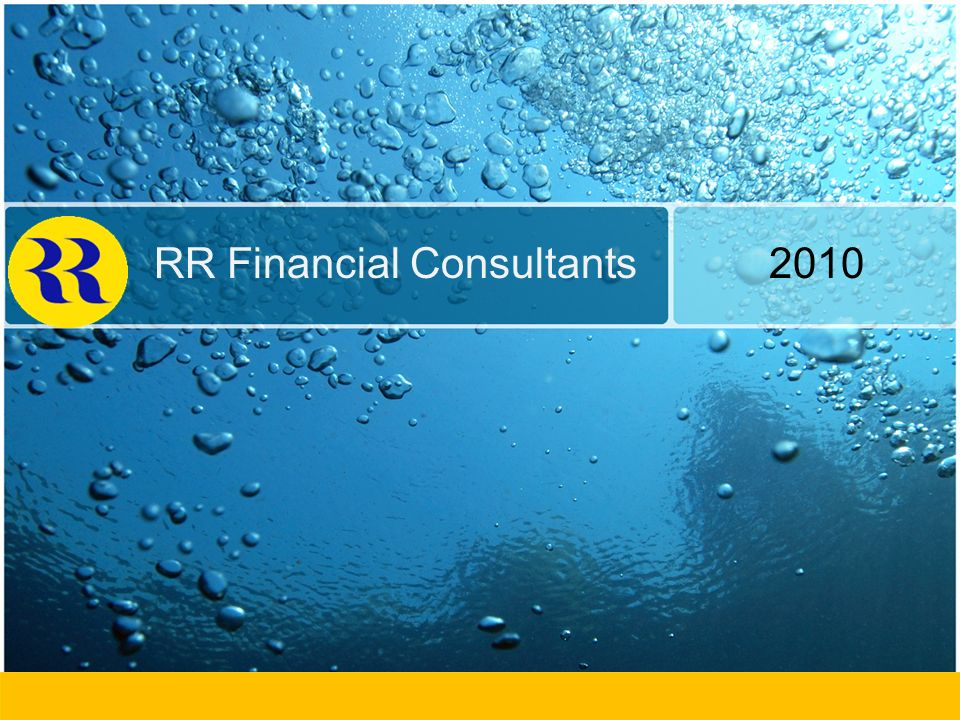 RR Financial Consultants 2010