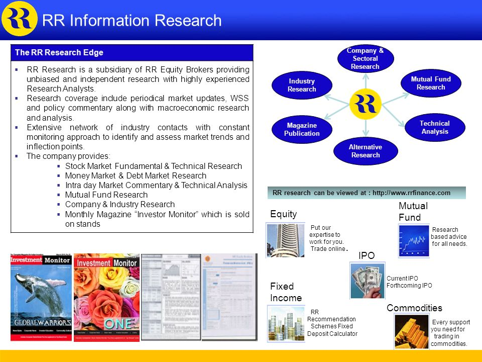 Company & Sectoral Research
