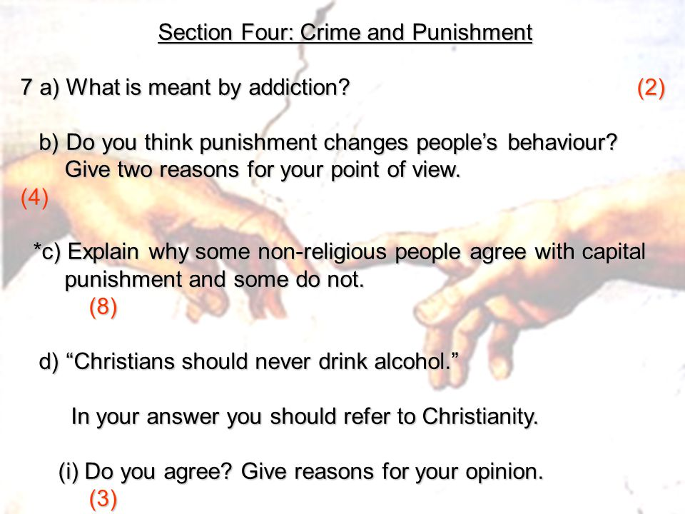 Section Four: Crime and Punishment