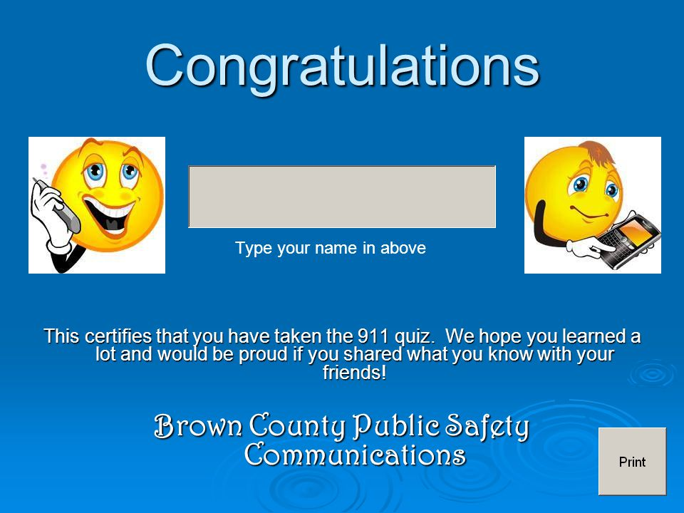 Brown County Public Safety Communications