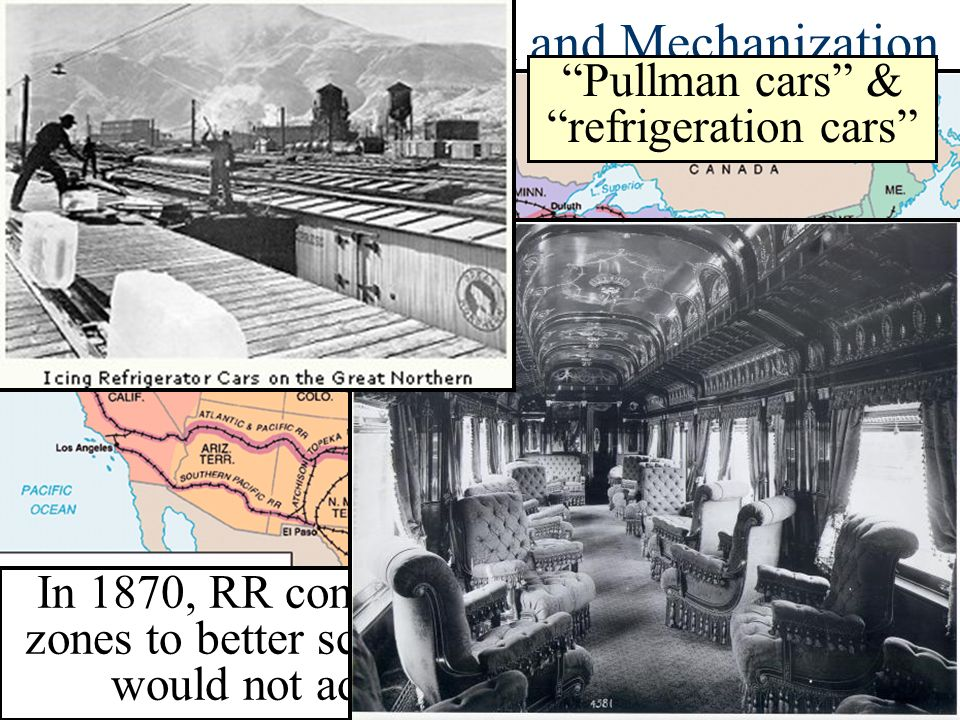 Railroad Consolidation and Mechanization