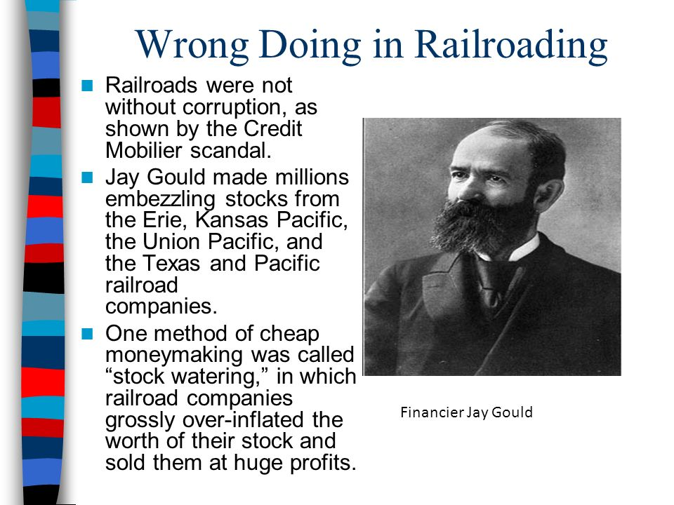 Wrong Doing in Railroading