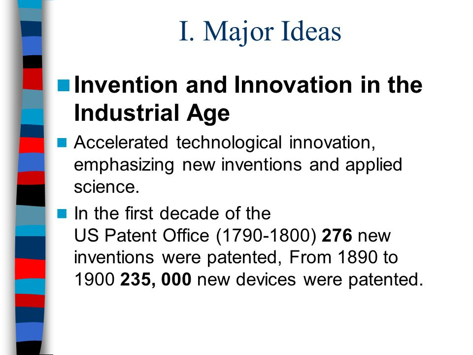 this is the patent age of new inventions essay Afterwards, he had the new and enhanced version of his invention patented then, with greenwood's champion ear protectors, he established greenwood's ear protector factory and made a large fortune supplying ear muffs to u s soldiers during world war i.