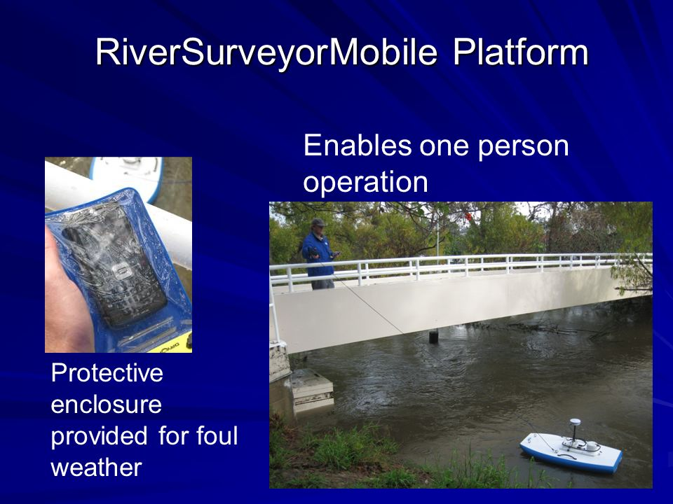 RiverSurveyorMobile Platform