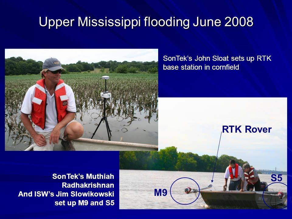 Upper Mississippi flooding June 2008