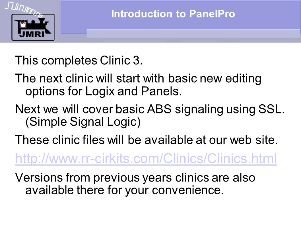 Introduction to PanelPro