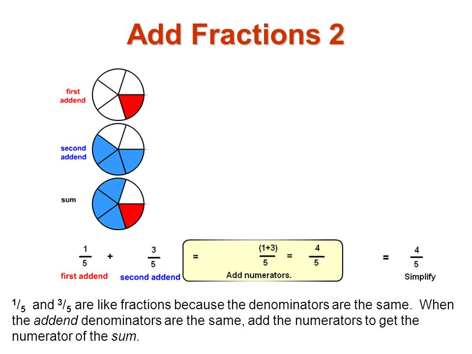 Add Fractions 2