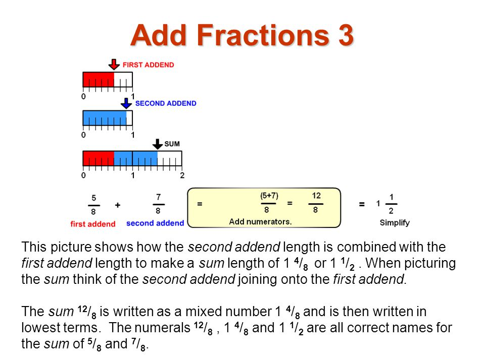 Add Fractions 3