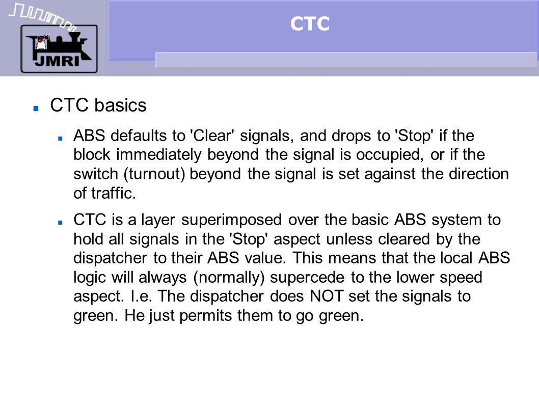 CTC CTC basics.