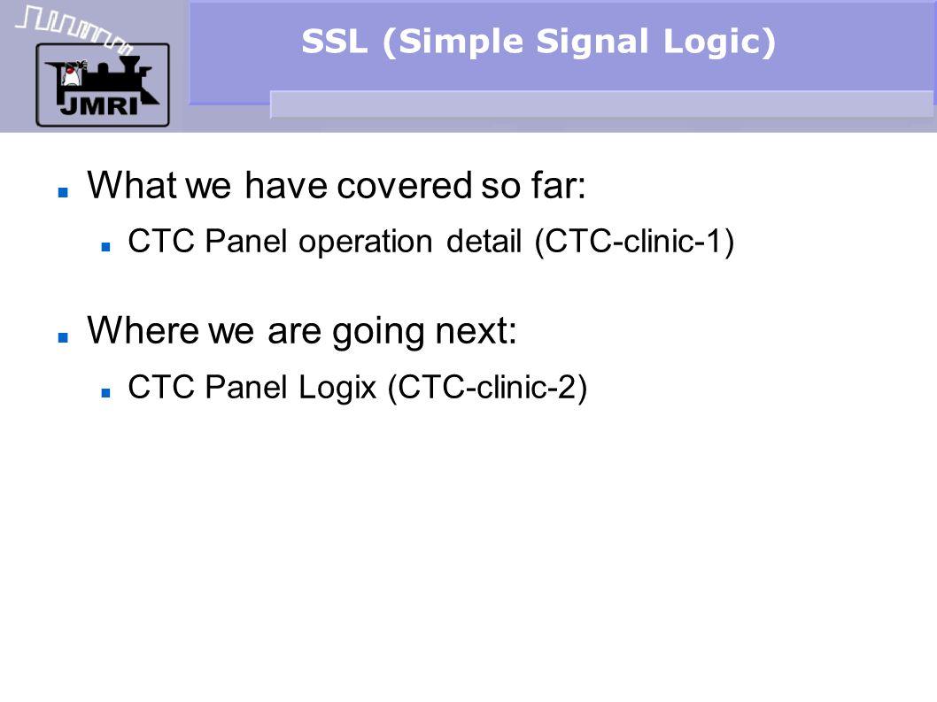 SSL (Simple Signal Logic)