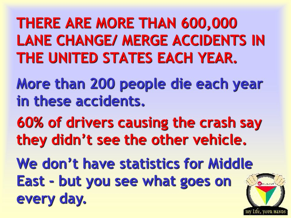More than 200 people die each year in these accidents.