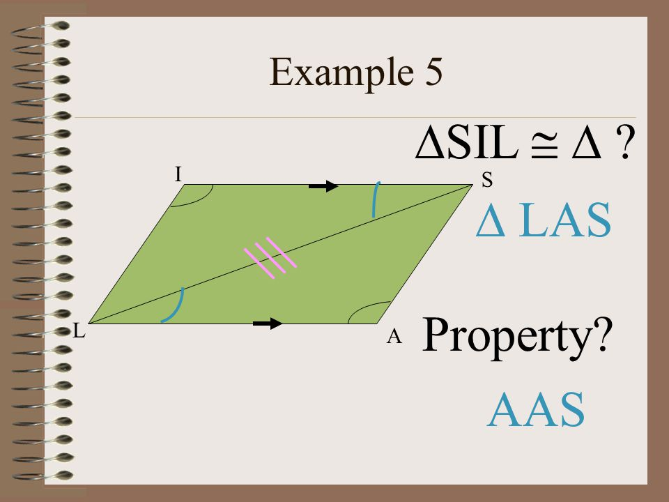 Example 5 SIL   L A S I  LAS Property AAS