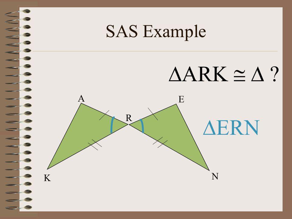 SAS Example ARK   K N E R A ERN