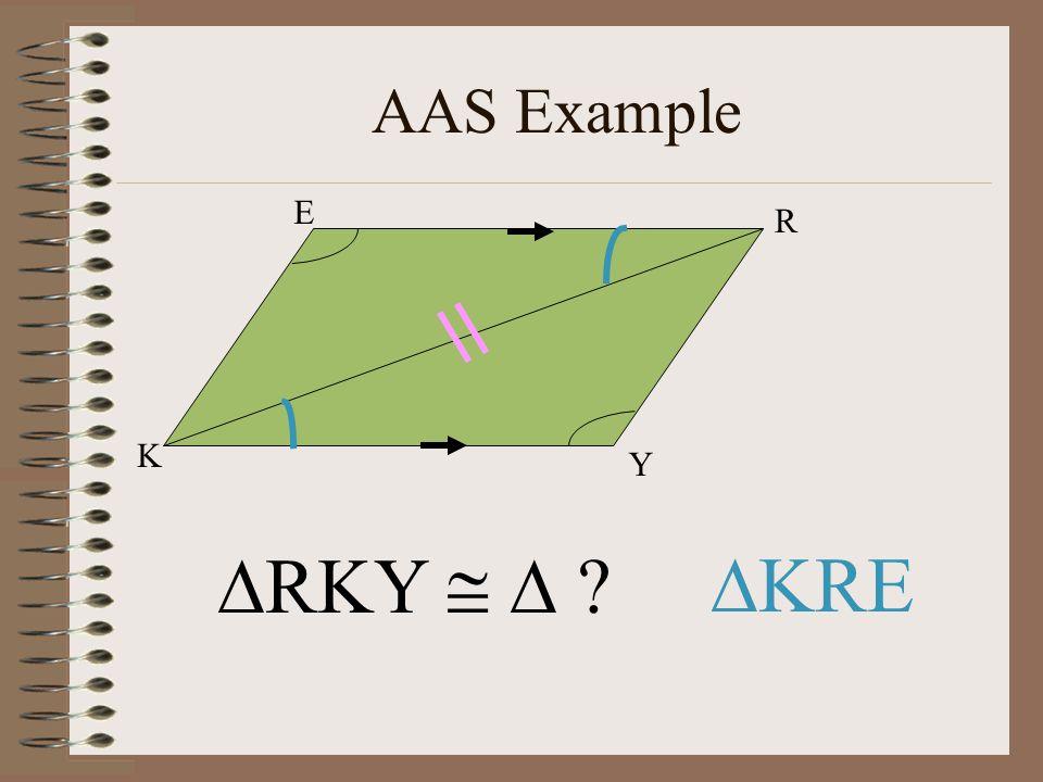 AAS Example K Y R E RKY   KRE