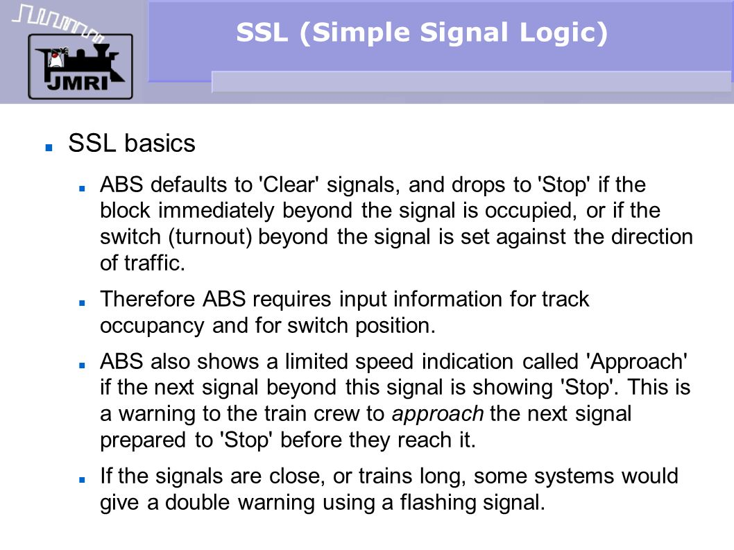 SSL (Simple Signal Logic)‏