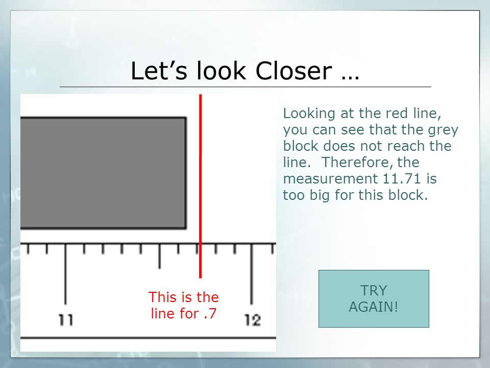 Let's look Closer …