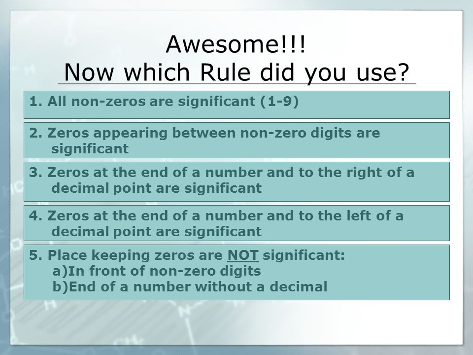 Awesome!!! Now which Rule did you use