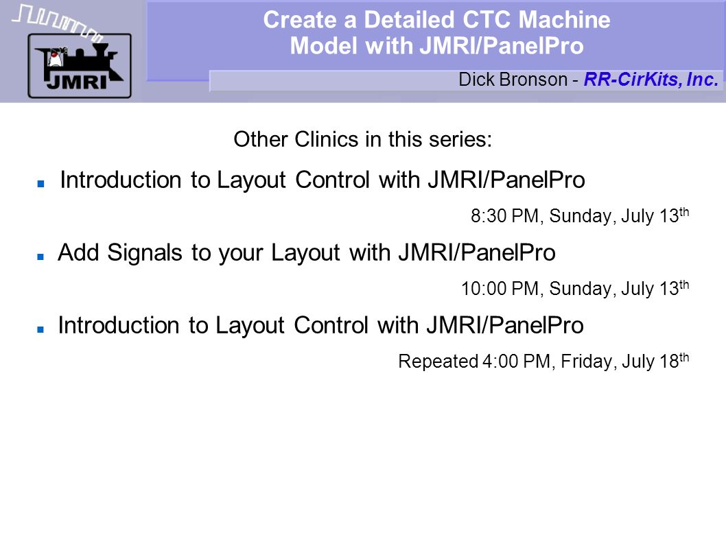 Create a Detailed CTC Machine Model with JMRI/PanelPro