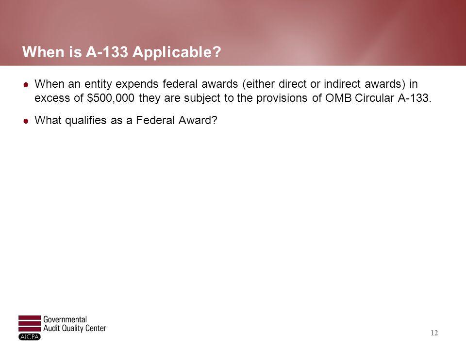 Definition of Federal Award