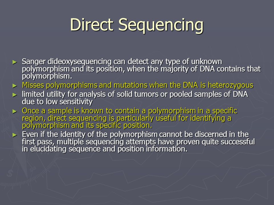 Direct Sequencing