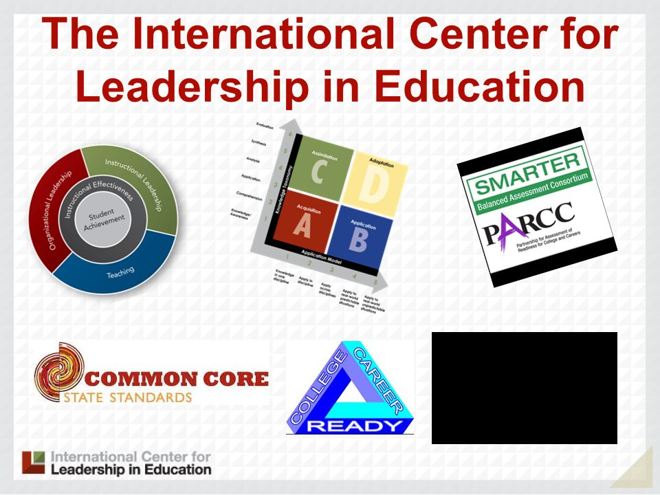 The International Center for Leadership in Education
