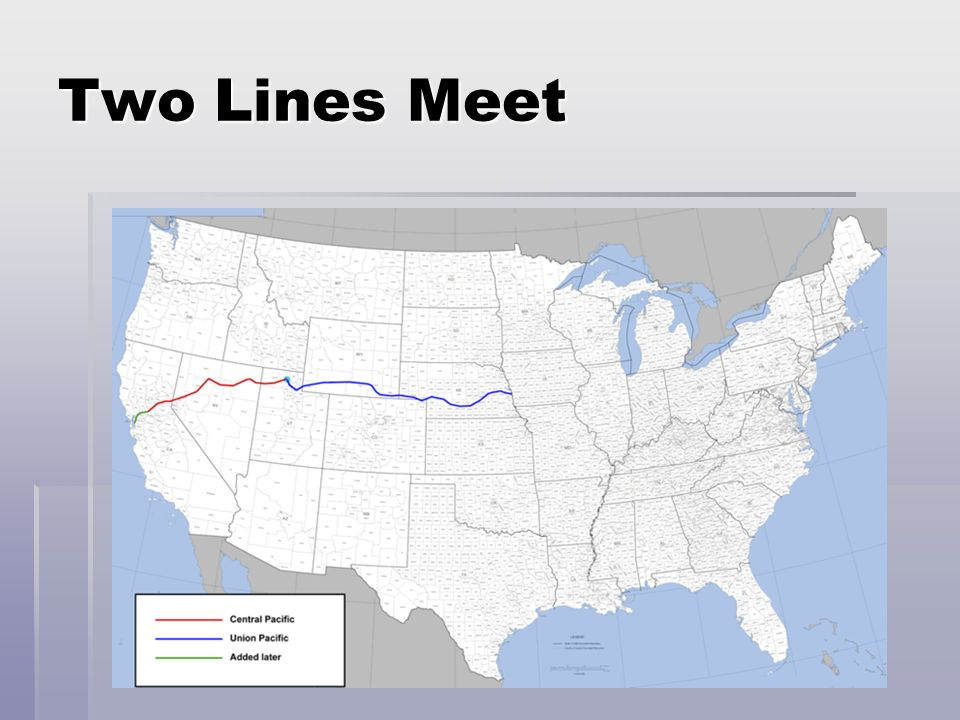 Two Lines Meet