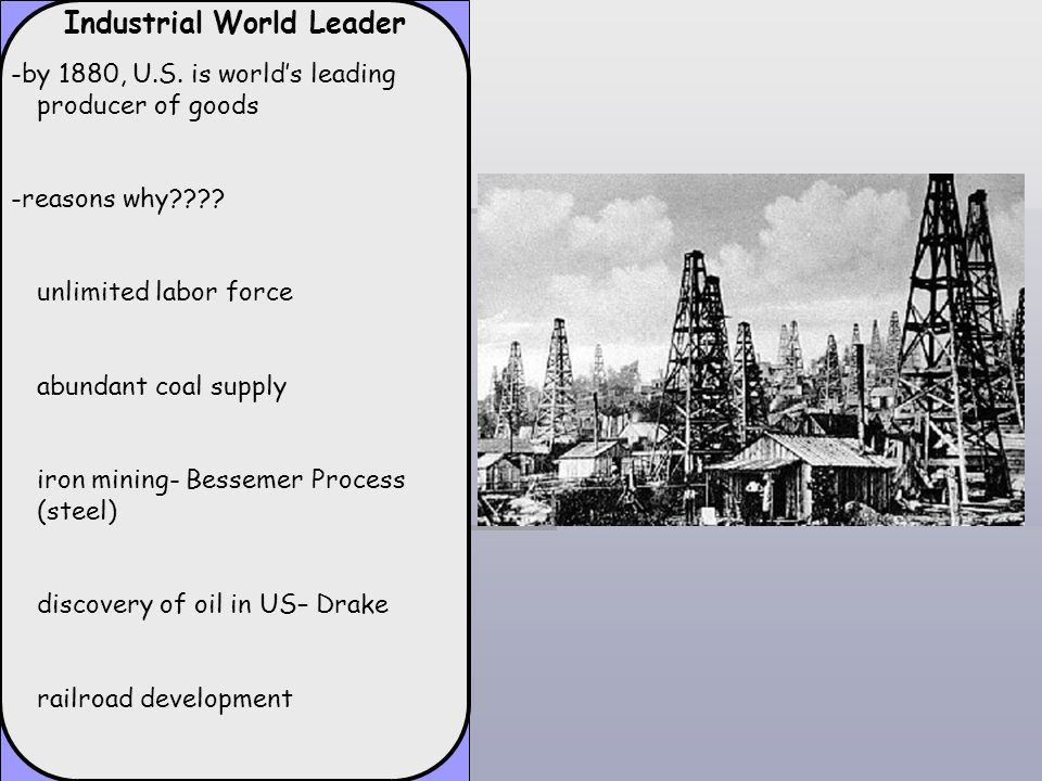 Industrial World Leader