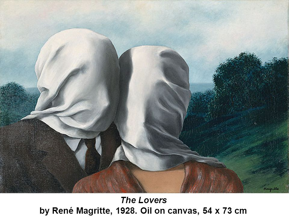 by René Magritte, 1928. Oil on canvas, 54 x 73 cm