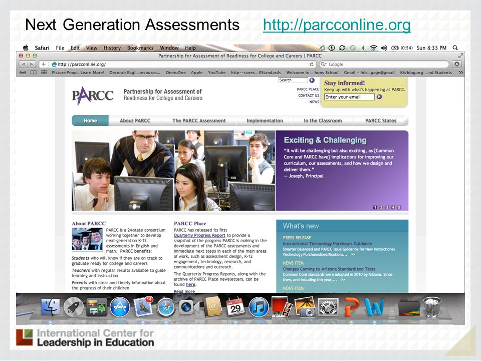 Next Generation Assessments http://parcconline.org