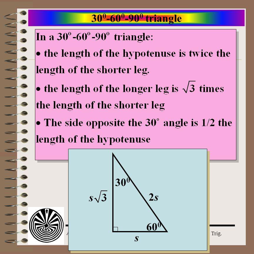 300-600-900 triangle 300 2s 600 s