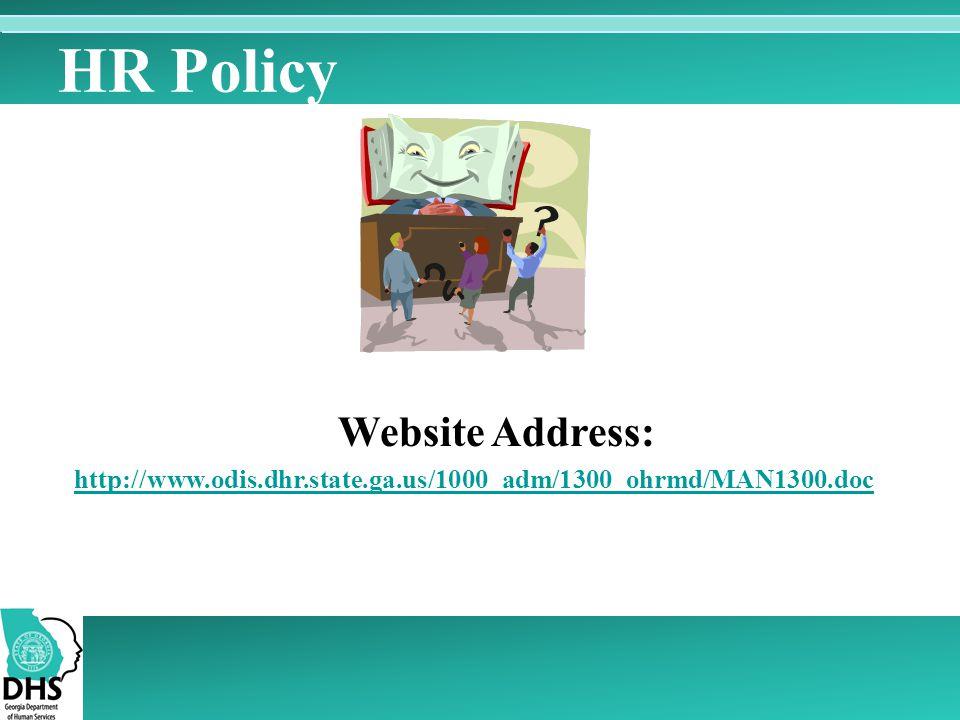 HR Policy Website Address: