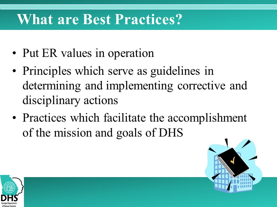 What are Best Practices