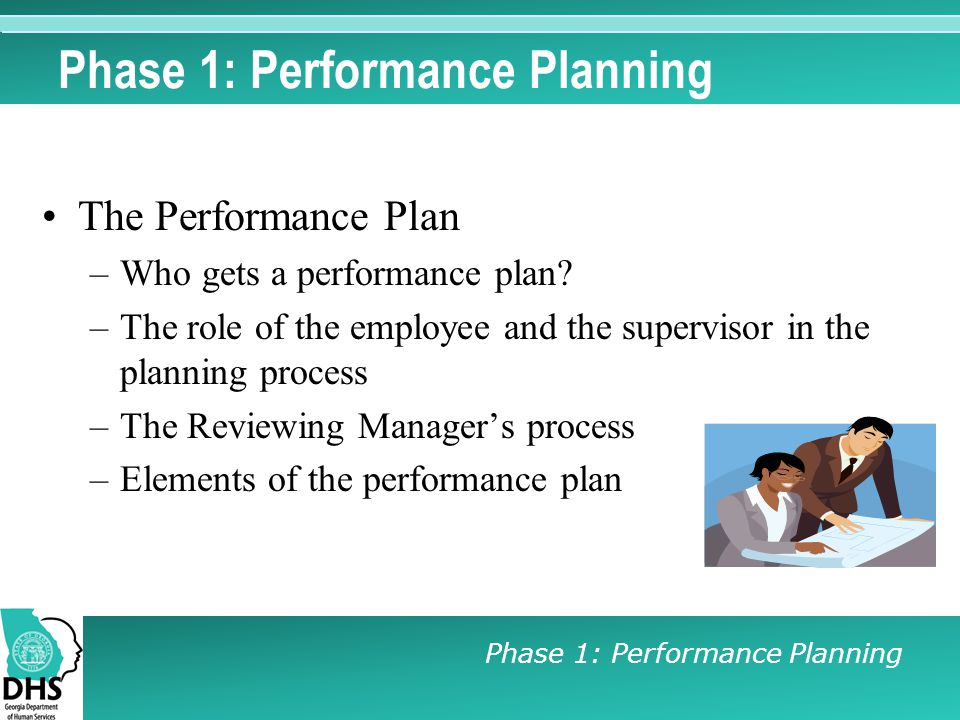 Phase 1: Performance Planning