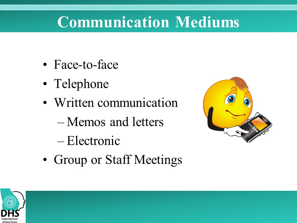 Communication Mediums