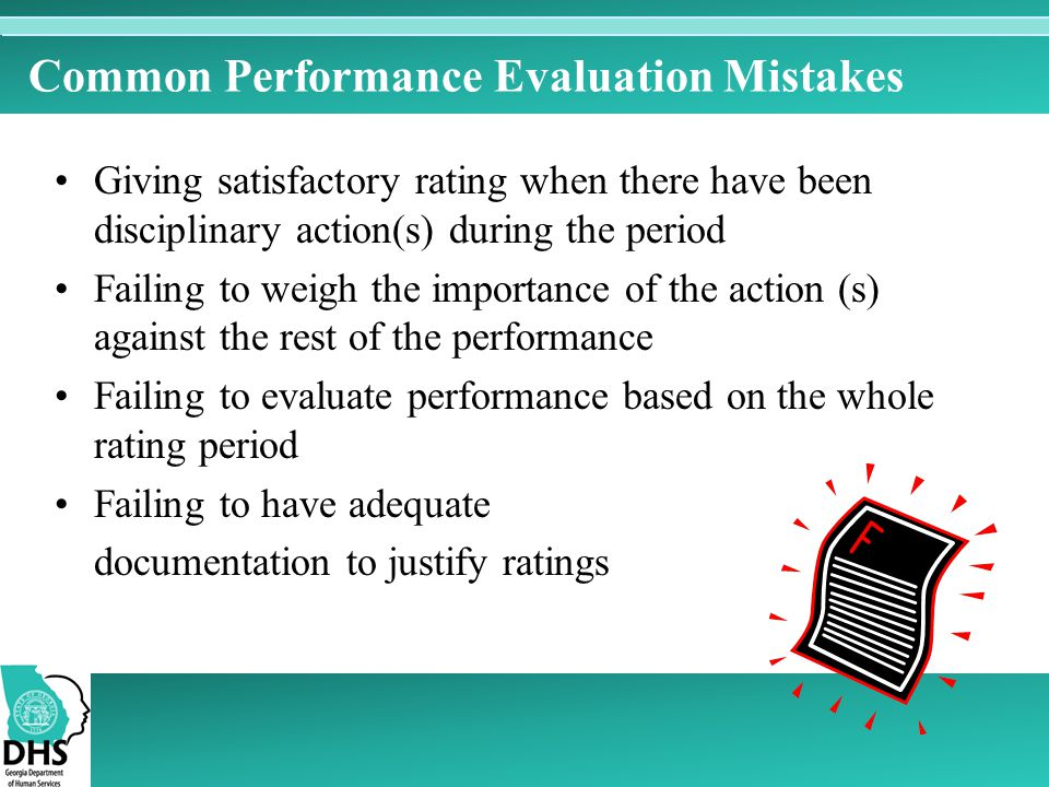 Common Performance Evaluation Mistakes