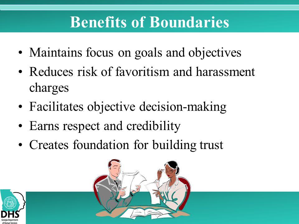 Benefits of Boundaries