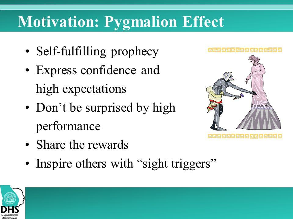 Motivation: Pygmalion Effect