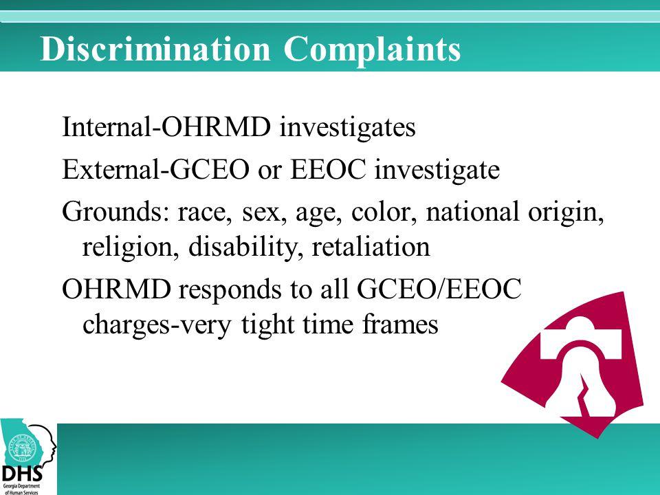 Discrimination Complaints