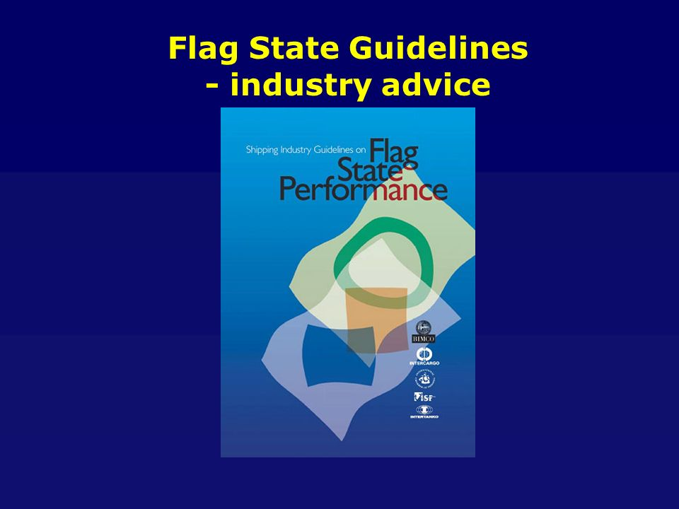 Flag State Guidelines - industry advice