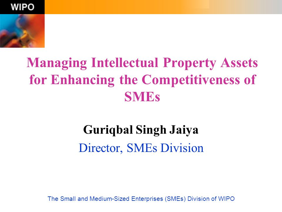 Guriqbal Singh Jaiya Director, SMEs Division