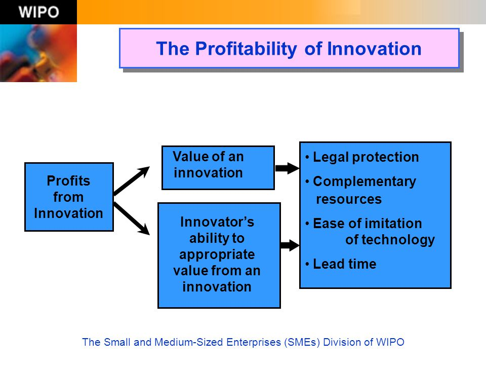 The Profitability of Innovation