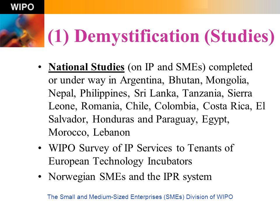 (1) Demystification (Studies)