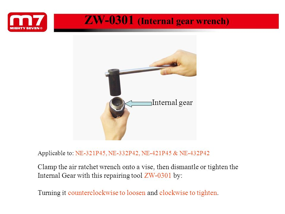ZW-0301 (Internal gear wrench)